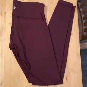 Lululemon full length leggings size 6